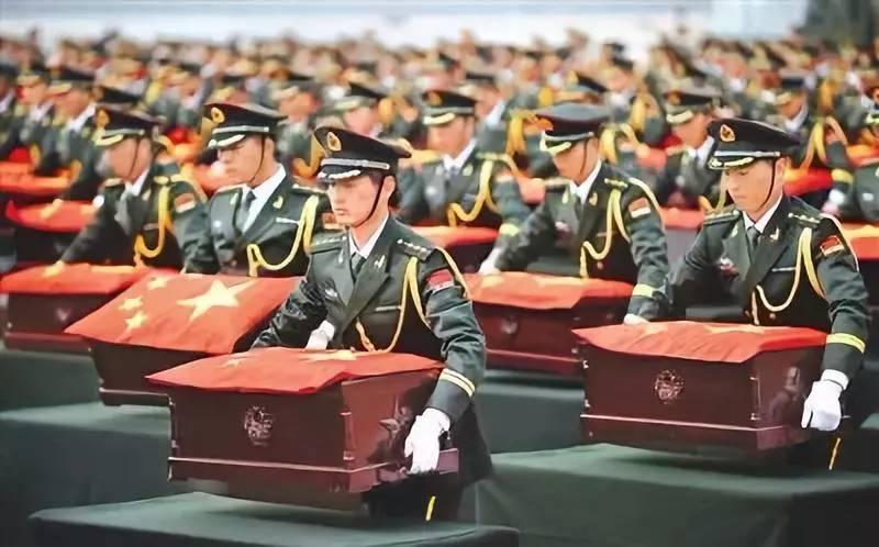 第七批在韩中国人民志愿军烈士遗骸回家了!